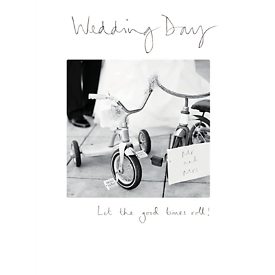 Image of Woodmansterne Good Times Roll Wedding Card