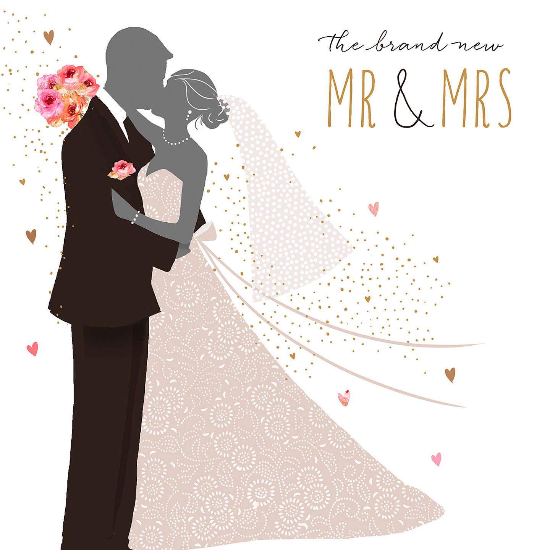 Portfolio Mr & Mrs Wedding Card at John Lewis