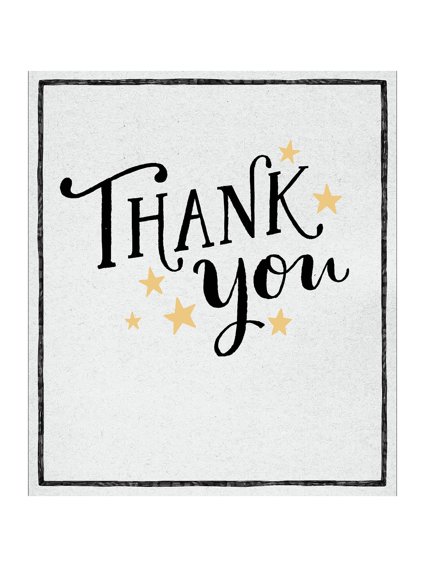 Uk Greetings Thank You Card At John Lewis Partners