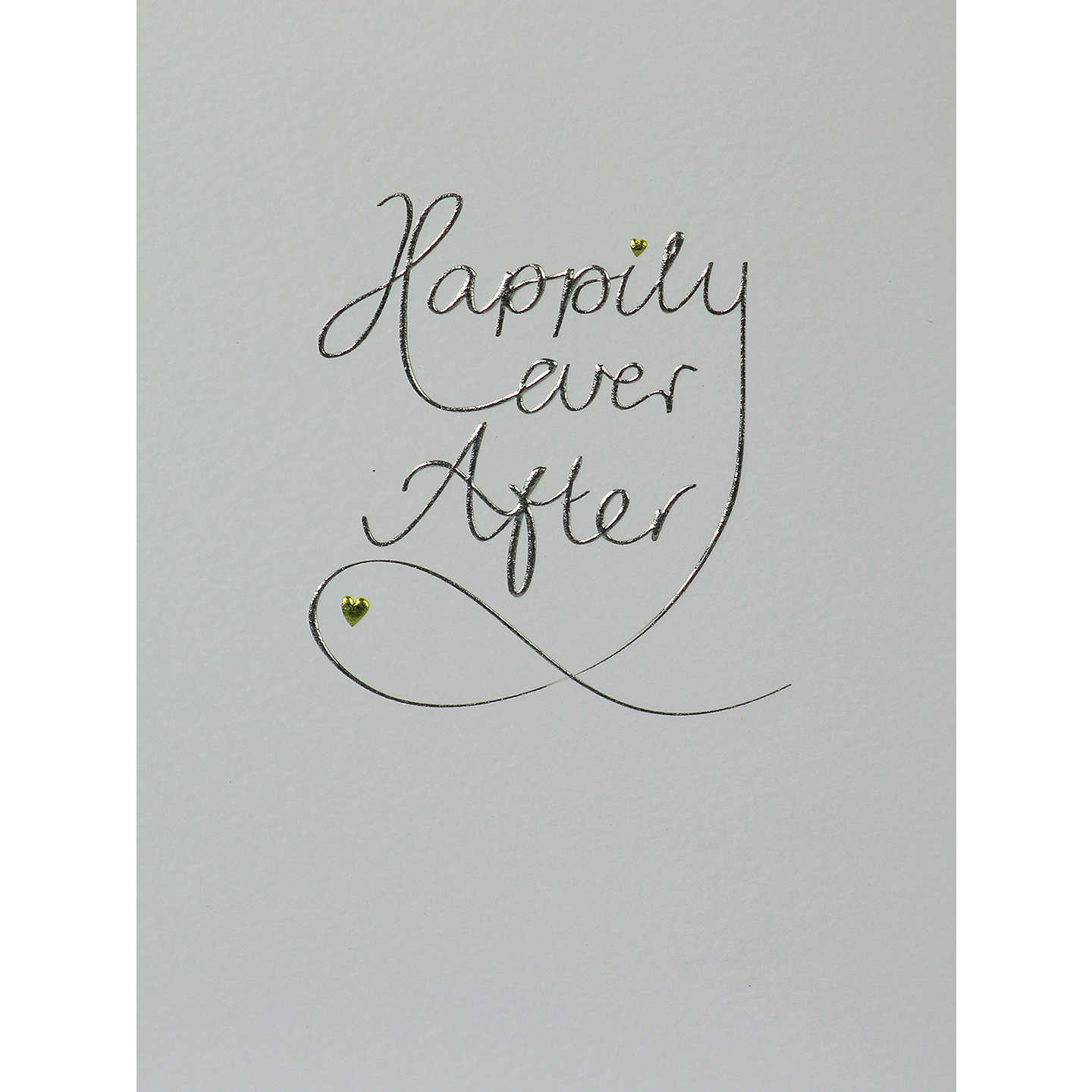 Paperlink Happily Ever After Wedding Card at John Lewis