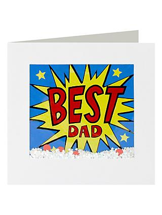 989d99268bf5a Icon Best Dad Kapow Shakies Father s Day Card