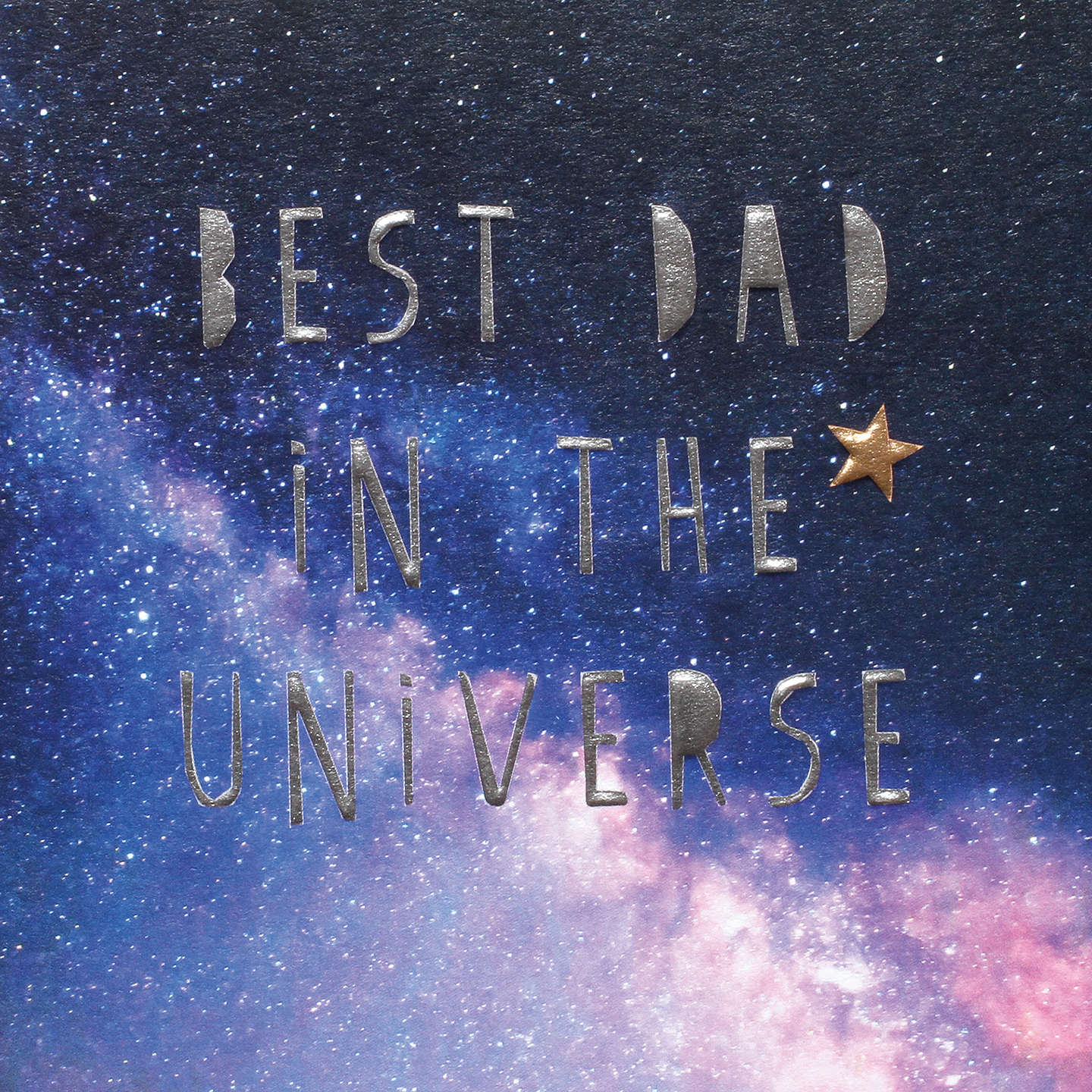 Bellyon Bubble Best Dad In The Universe Father's Day Card at ...