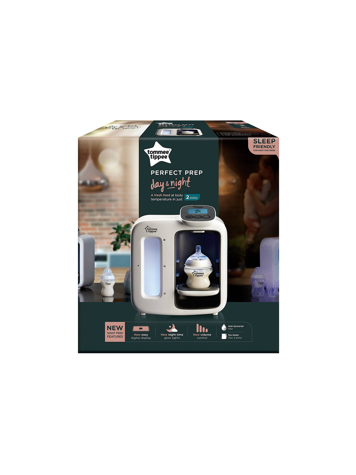 Buy Tommee Tippee Perfect Prep Day & Night, White Online at johnlewis.com
