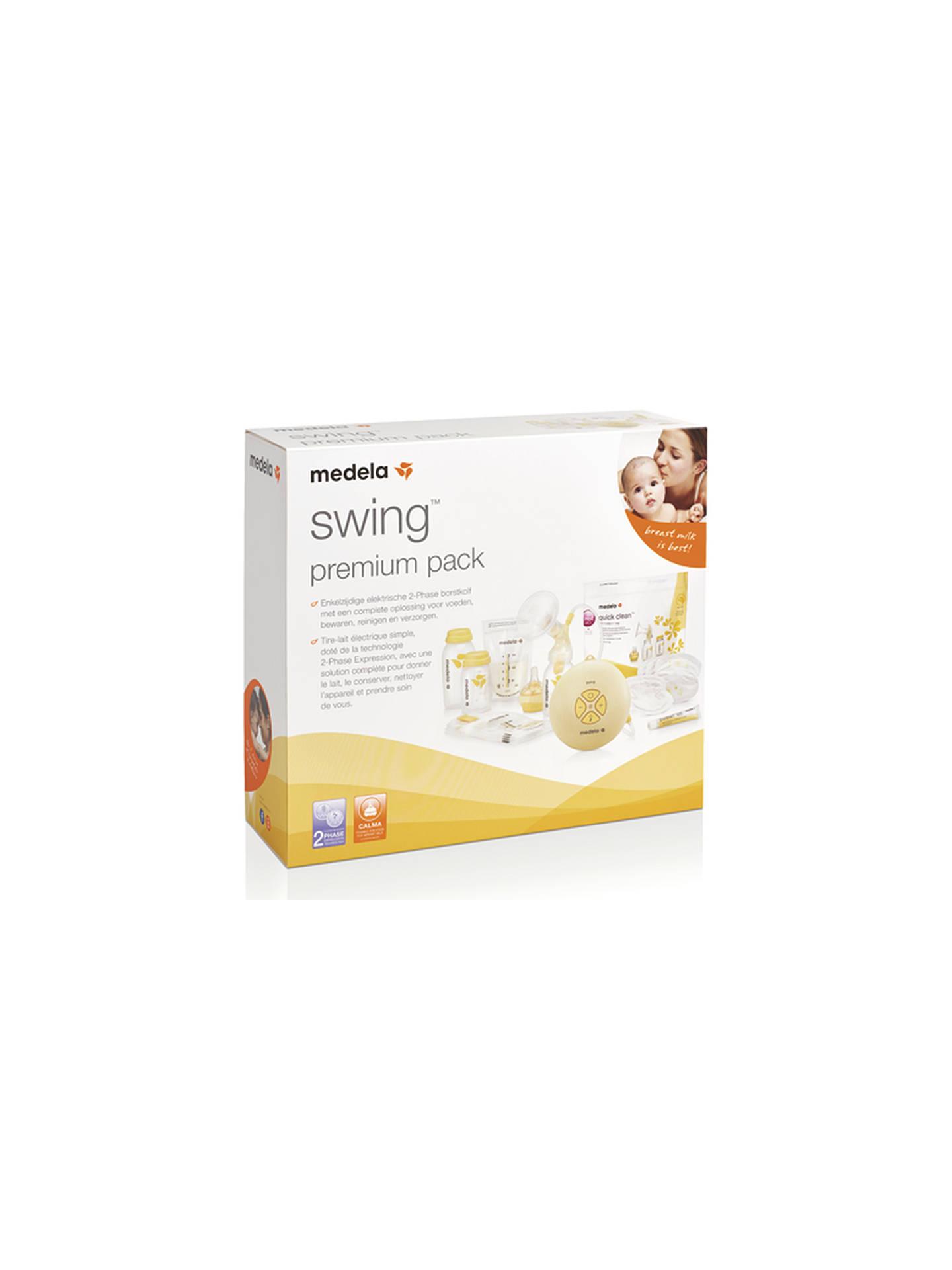 Medela Swing Premium Edition Breast Pump At John Lewis Partners