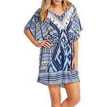 Buy Seafolly Desert Tribe Kaftan, Bluestone Online at johnlewis.com