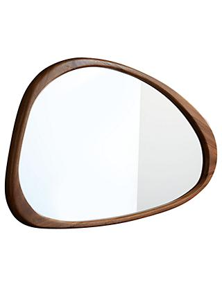 west elm Mid-Century Asymmetrical Wall Mirror, Acorn