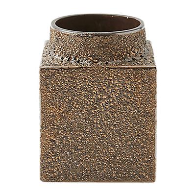 west elm Lava Glaze Vase, 13cm