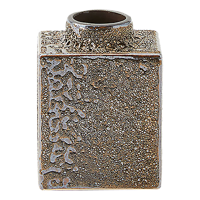 west elm Lava Glaze Vase, 22cm