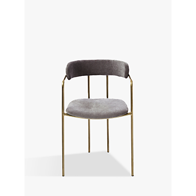west elm Lenox Dining Chair, Grey