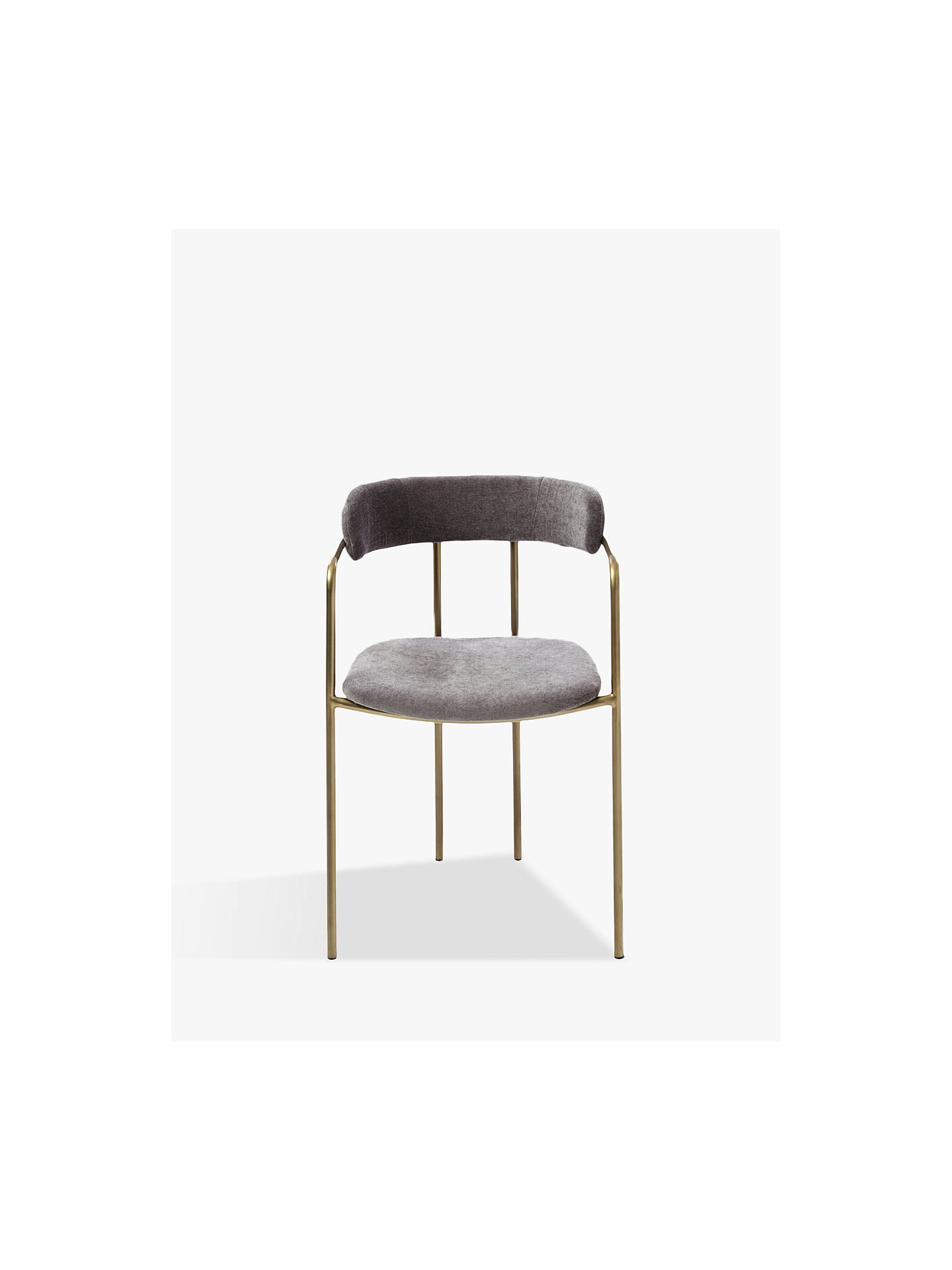 Stupendous West Elm Lenox Dining Chair Grey Beatyapartments Chair Design Images Beatyapartmentscom