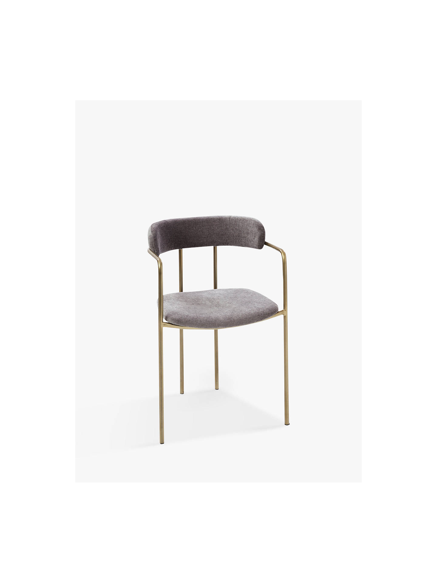 Buywest elm Lenox Dining Chair, Grey Online at johnlewis.com