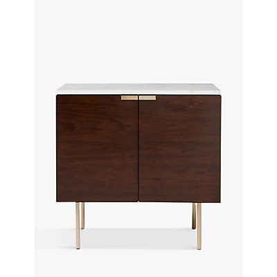 west elm Delphine Console Table, Brown