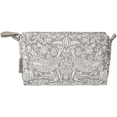 Heathcote & Ivory Morris & Co Pure Morris Cosmetic Bag, Light Grey