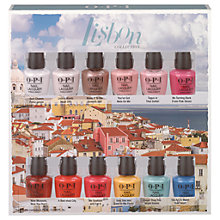 Buy OPI Nails - Nail Lacquer - Lisbon Collection Nail Polish Set, Multi Online at johnlewis.com