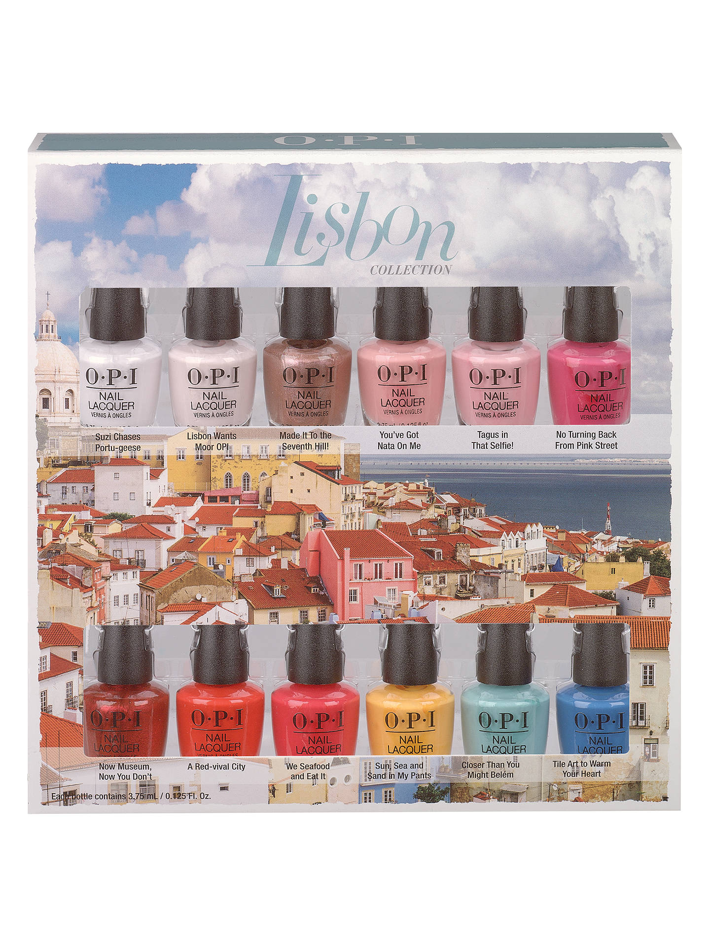 BuyOPI Nails - Nail Lacquer - Lisbon Collection Nail Polish Set, Multi Online at johnlewis.com