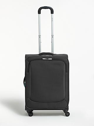 John Lewis & Partners Greenwich 2 4-Wheel 75cm Large Suitcase, Graphite