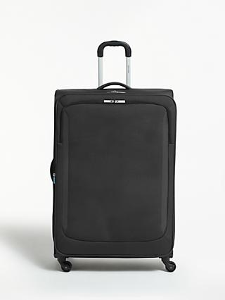 John Lewis & Partners Greenwich 2 4-Wheel 85cm Large Suitcase, Graphite
