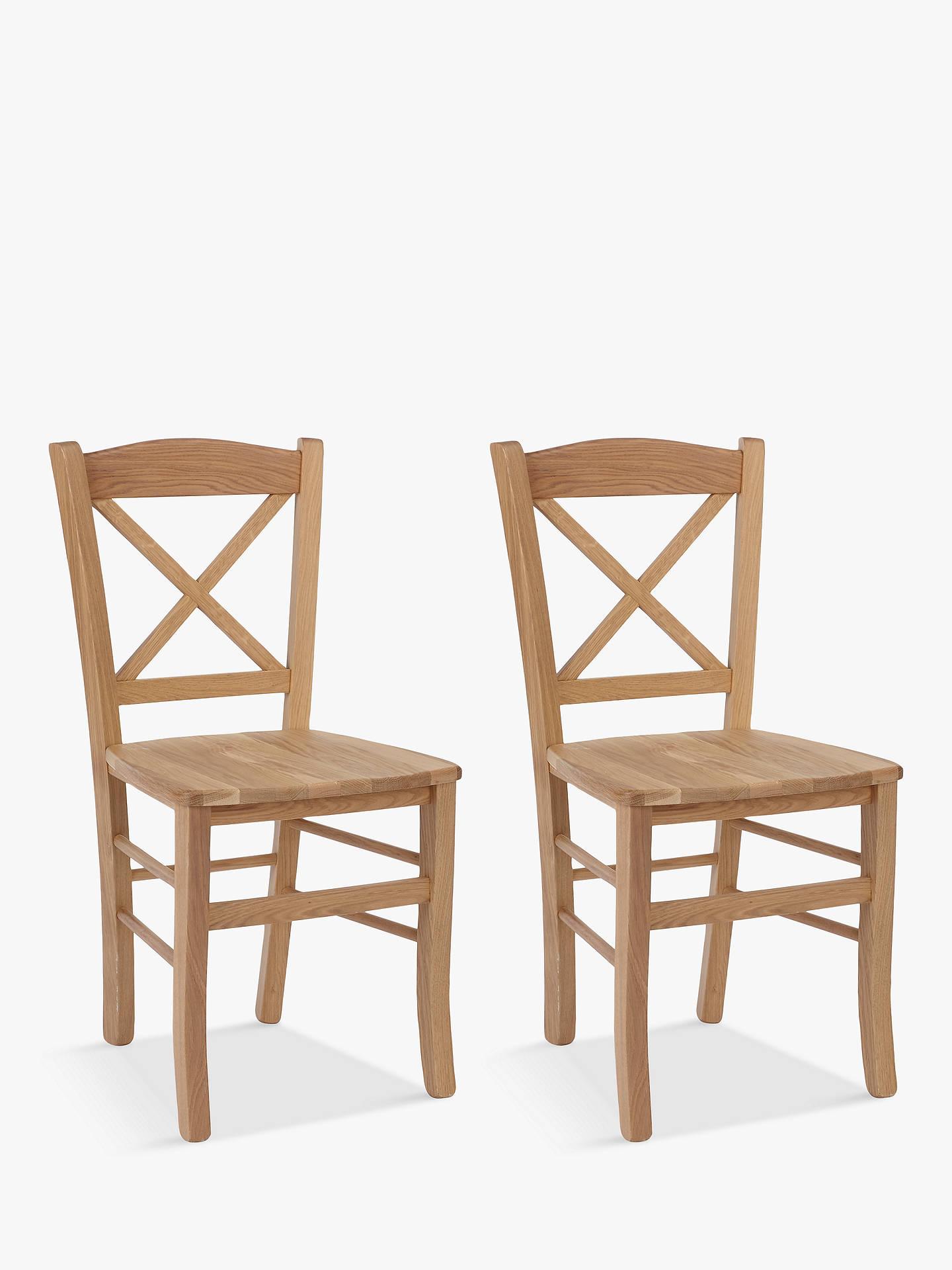 Astounding John Lewis Partners Clayton Dining Chairs Set Of 2 Fsc Certified Oak Cjindustries Chair Design For Home Cjindustriesco