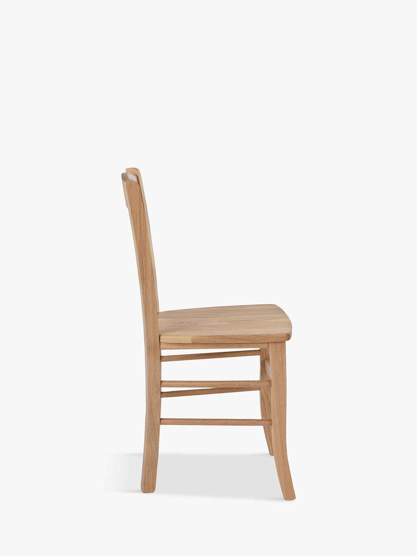 Surprising John Lewis Partners Clayton Dining Chairs Set Of 2 Fsc Certified Oak Andrewgaddart Wooden Chair Designs For Living Room Andrewgaddartcom