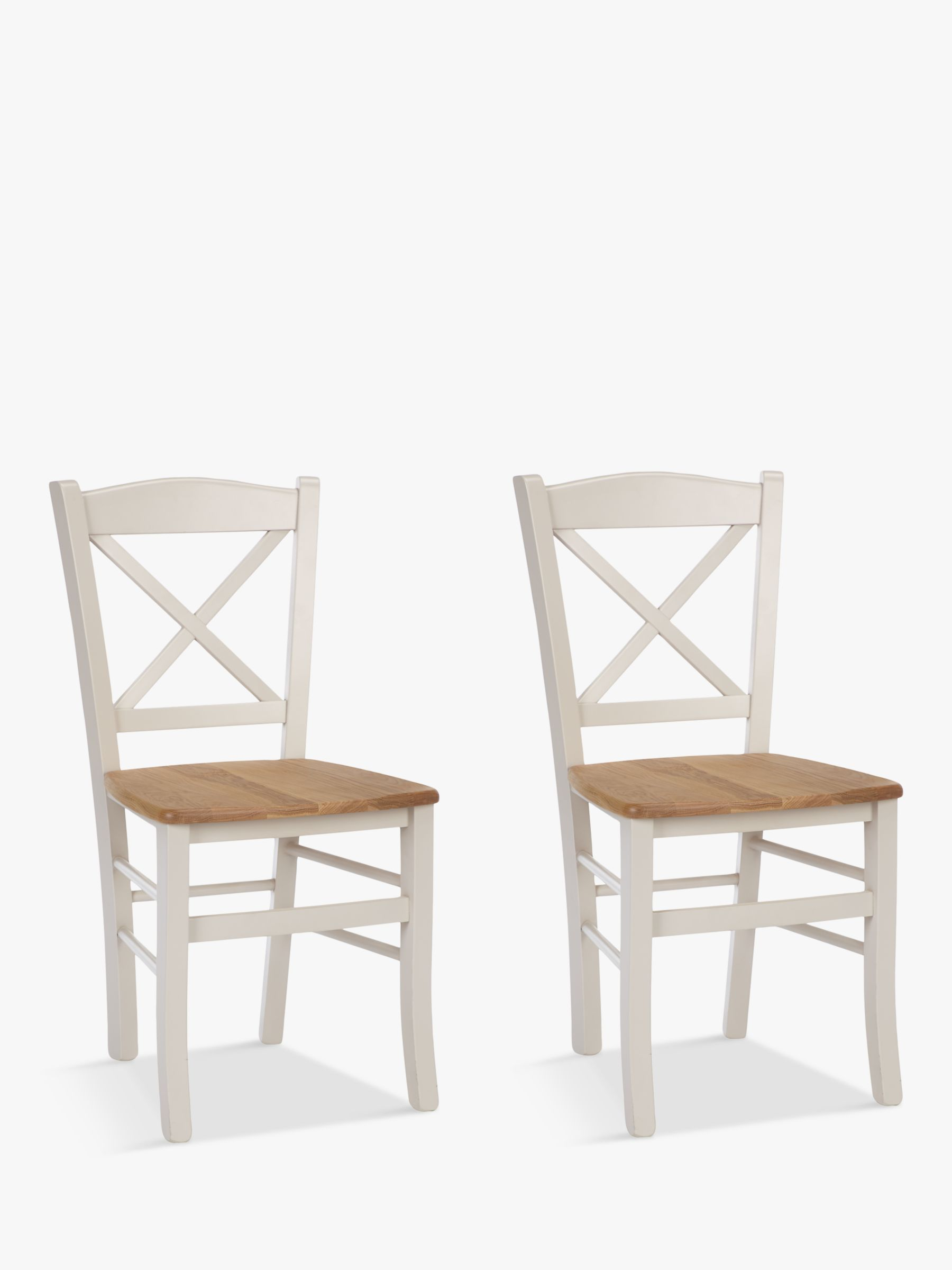 ANYDAY John Lewis & Partners Clayton Dining Chairs, Set of 2, FSC-Certified
