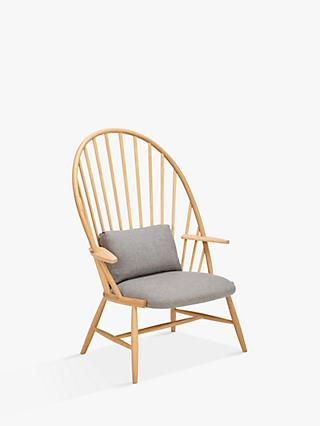 Croft Collection Simon Pengelly Harp Chair, Oak