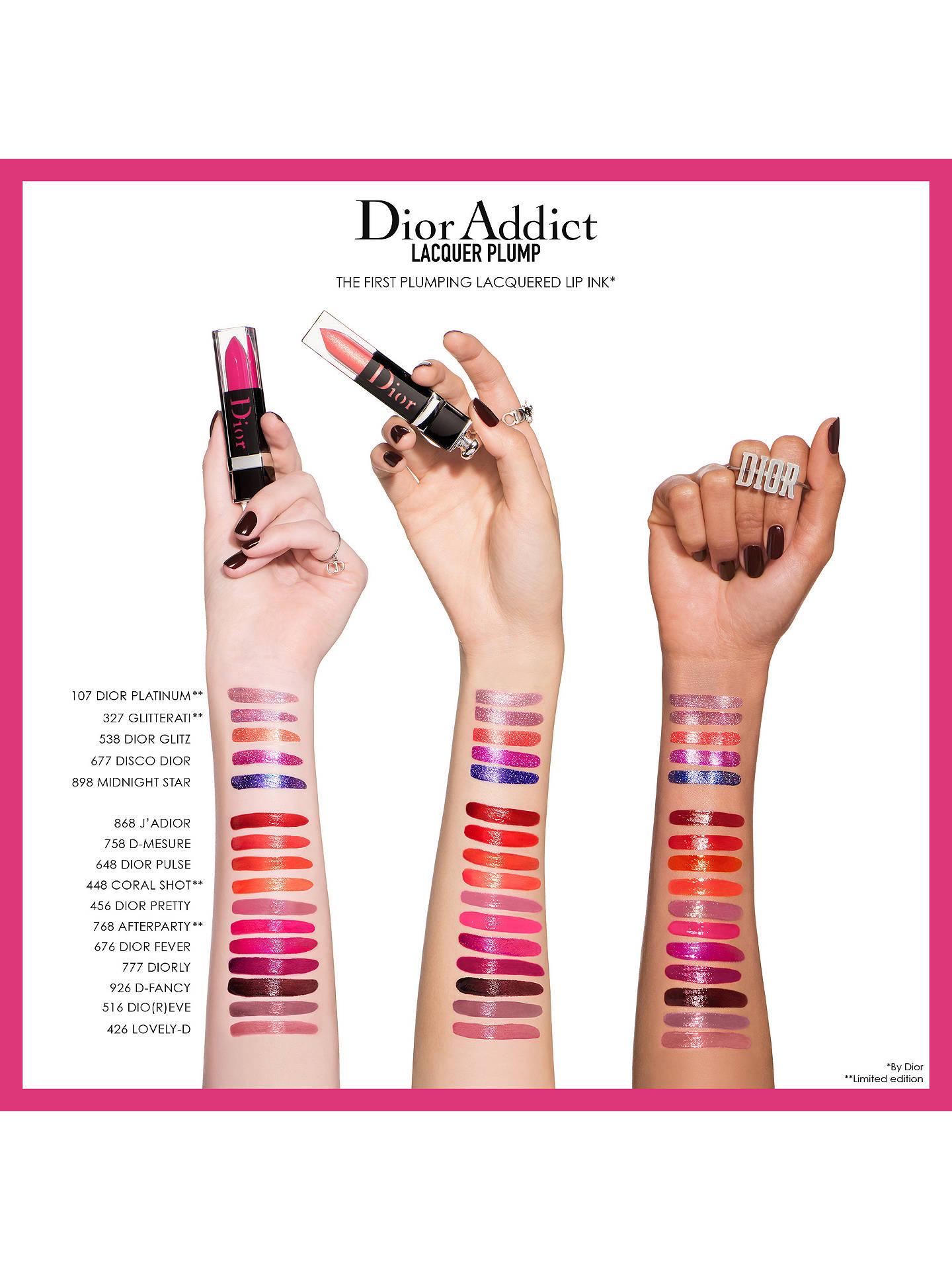 2a182e576a80e Dior Addict Lip Plumping Lacquered Ink Lipstick at John Lewis   Partners