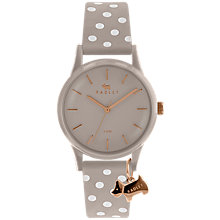 Buy Radley Women's Watch It Spotted Leather Strap Watch, Cobweb Online at johnlewis.com
