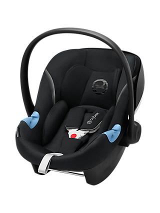 Cybex Aton M Group 0+ i-Size Baby Car Seat, Lava Black