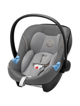 Cybex Aton M Group 0 I Size Baby Car Seat Manhattan Grey