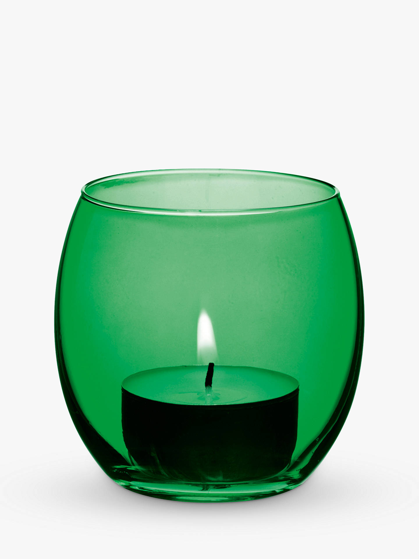 Buy LSA International Coro Tealight Holder, Set of 4, Leaf Online at johnlewis.com