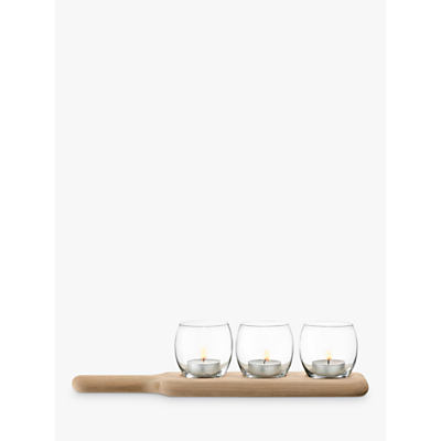 LSA International Paddle Tealight Holder Set
