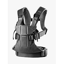 Buy BabyBjörn One Baby Carrier 2018, Grey Online at johnlewis.com