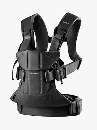 BabyBjörn One Baby Carrier 2018, Black