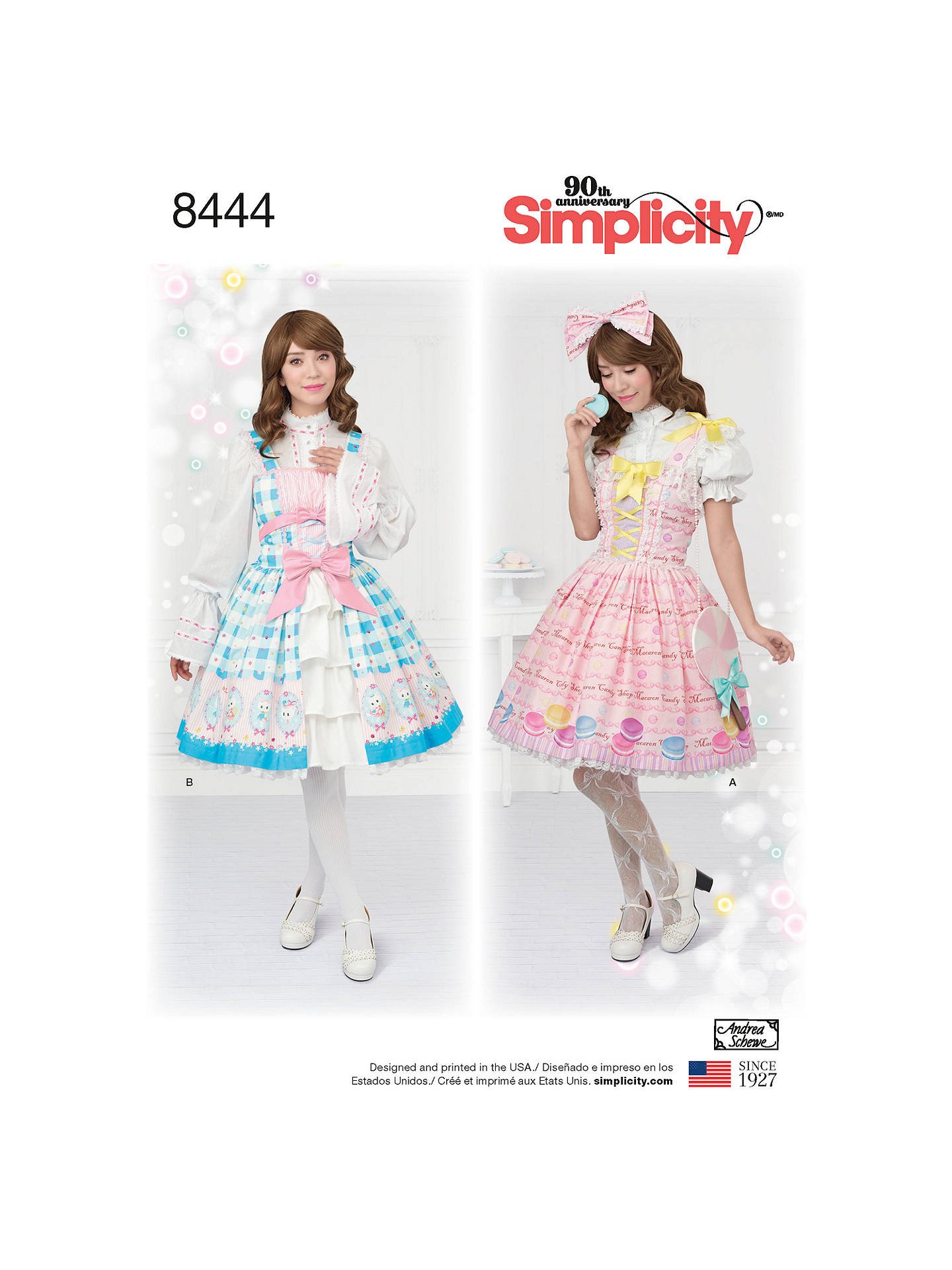 Simplicity Women\'s Cosplay Costumes Sewing Pattern, 8444 at John ...
