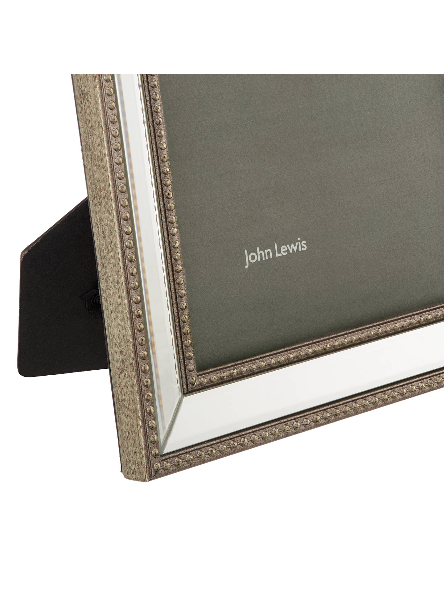 Buy John Lewis & Partners Freya Scooped Photo Frame, 8 x 10 (20 x 25cm), Silver Online at johnlewis.com
