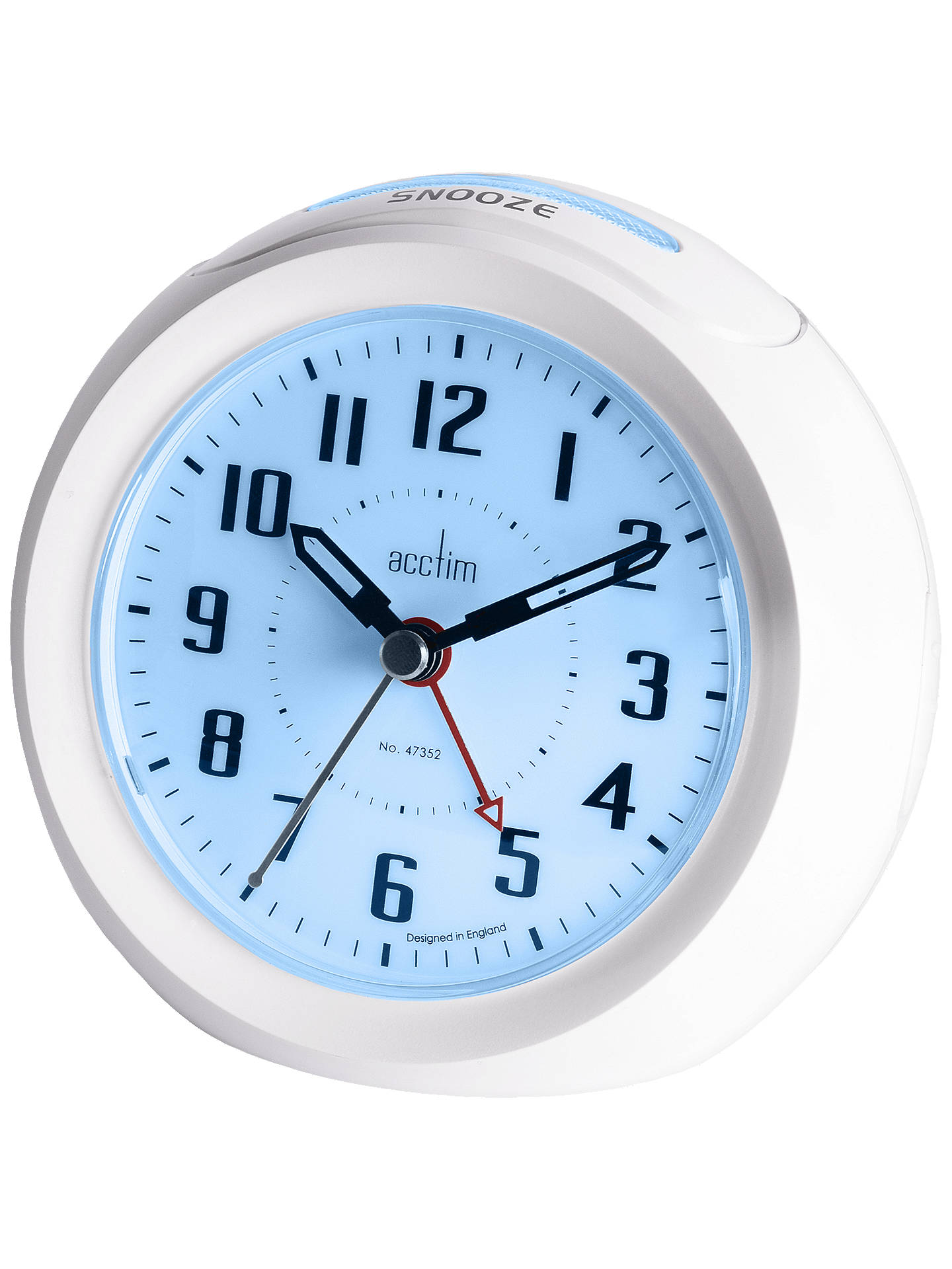 BuyAcctim Minos Smart Connector® USB Alarm Clock, White Online at johnlewis.com