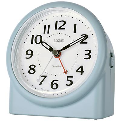 Image of Acctim Smartlite Alarm Clock, Matt Blue