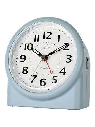 Acctim Smartlite Alarm Clock, Matt Blue