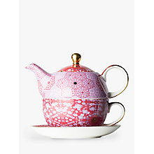 Buy T2 Moroccan Tealeidoscope Teapot For One, Rose, 450ml Online at johnlewis.com