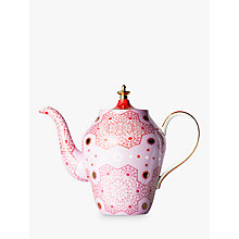 Buy T2 Moroccan Tealeidoscope 4 Cup Teapot, Rose, 1L Online at johnlewis.com