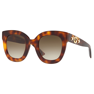 Gucci GG0208S Statement Oval Sunglasses