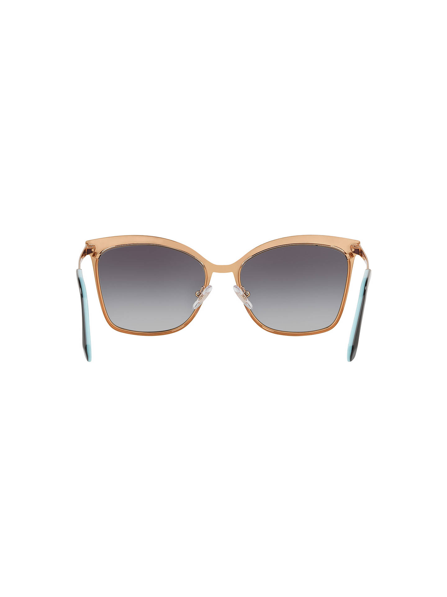 BuyTiffany & Co TF3060 Women's Square Sunglasses, Gold/Grey Gradient Online at johnlewis.com