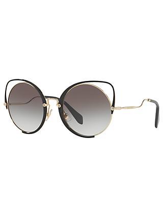 374e68816f70 Miu Miu MU 51TS Round Sunglasses