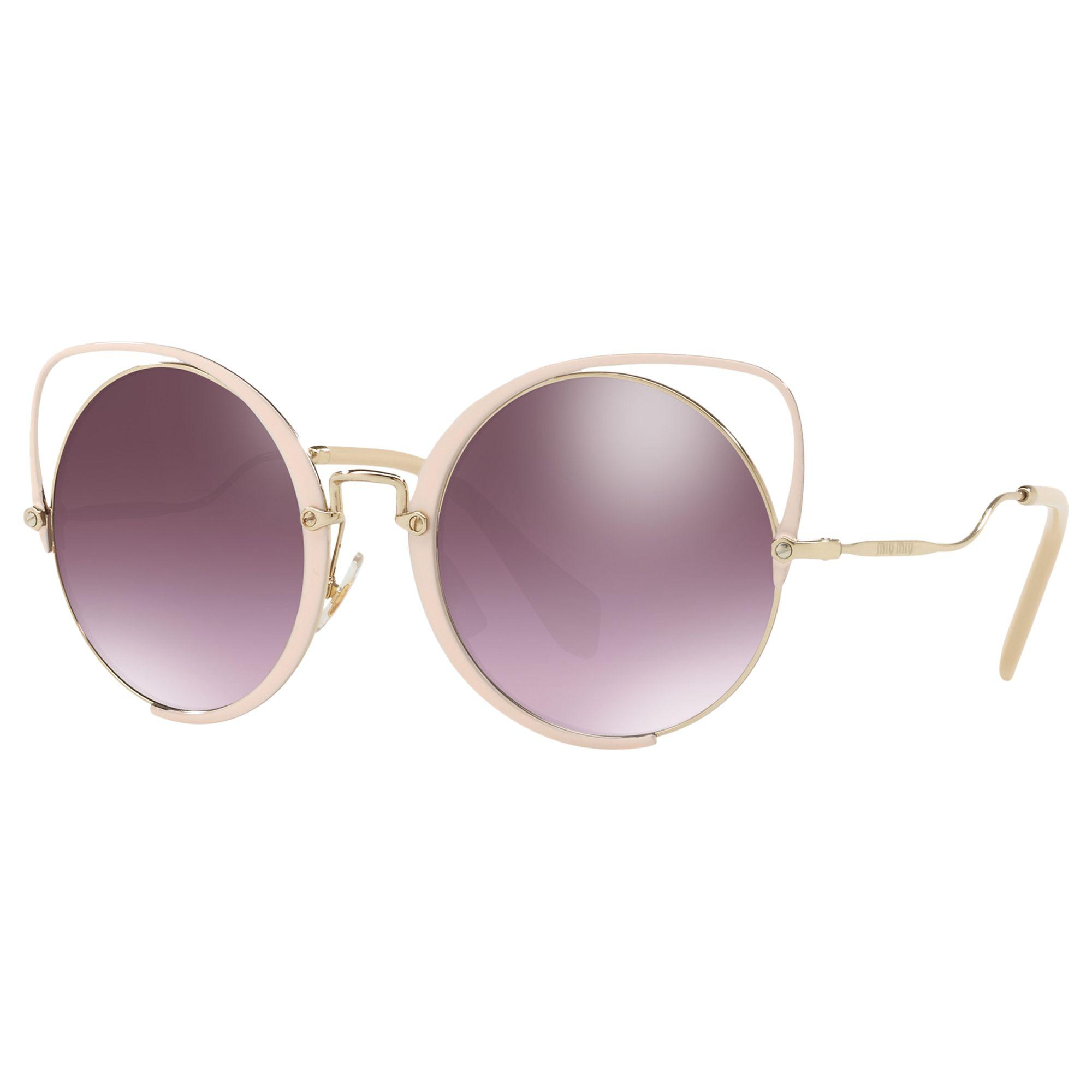 Miu Miu Miu Miu MU 51TS Round Sunglasses