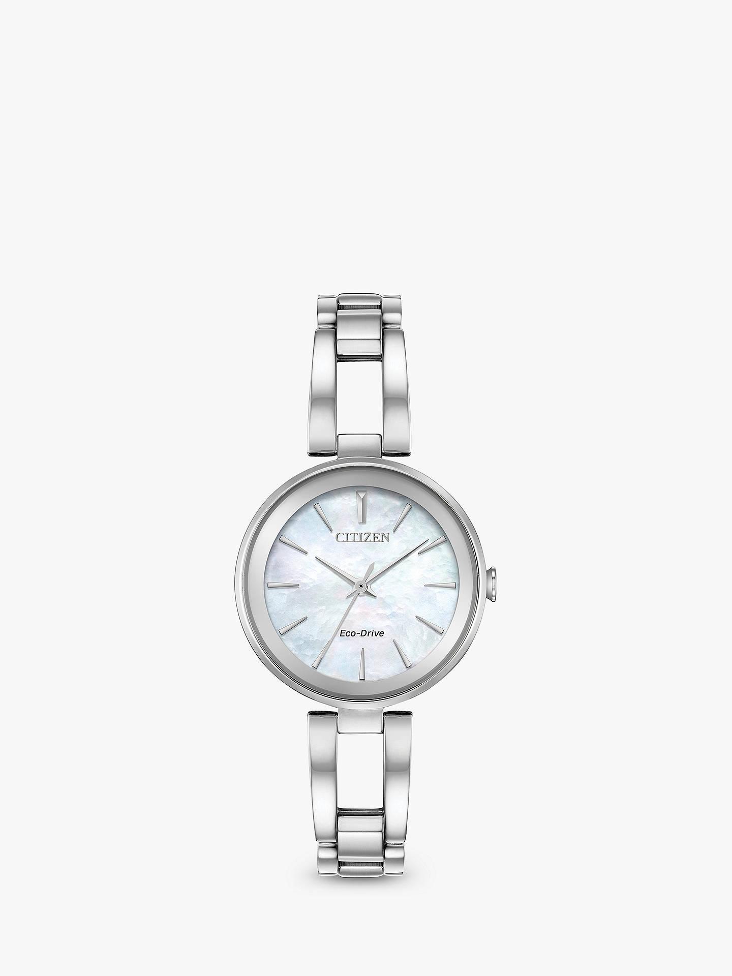 Citizen Women s Axiom Eco-Drive Bracelet Strap Watch at John Lewis ... 03d61876ae