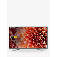 "Buy Sony Bravia KD65XF9005 LED HDR 4K Ultra HD Smart Android TV, 65"" with Freeview HD & Youview, Black Online at johnlewis.com"
