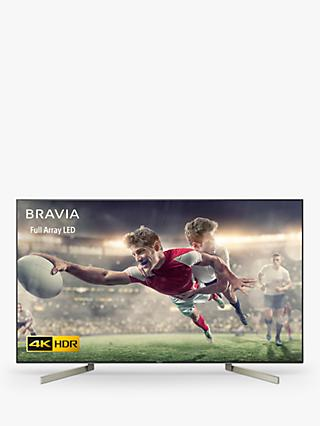 "Sony Bravia KD65XF9005 LED HDR 4K Ultra HD Smart Android TV, 65"" with Freeview HD & Youview, Black"