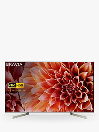 "Sony Bravia KD55XF9005 LED HDR 4K Ultra HD Smart Android TV, 55"" with Freeview HD & Youview, Black"