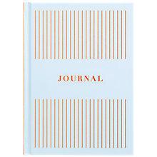 Buy kikki.K A5 Energise Feature Journal, Blue Online at johnlewis.com
