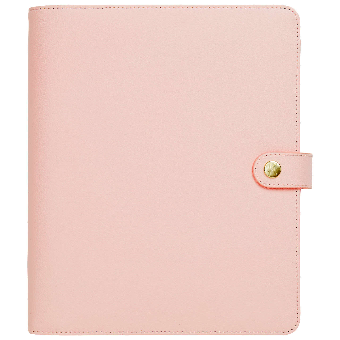 k large leather personal planner pink online at johnlewiscom